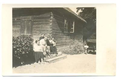Nežinomas fotografas. Grupinė fotografija. 1940