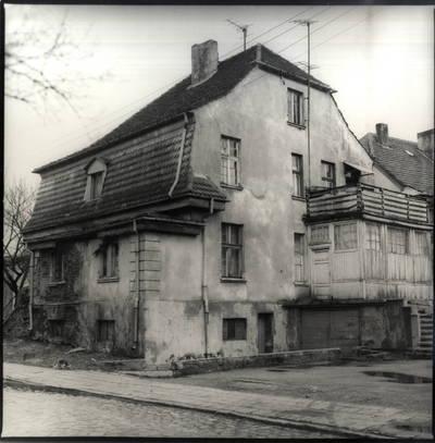 Jokūbo ir Johanos Stikliorių namas Klaipėdoje. Pavienė nuotrauka / Bernardas Aleknavičius