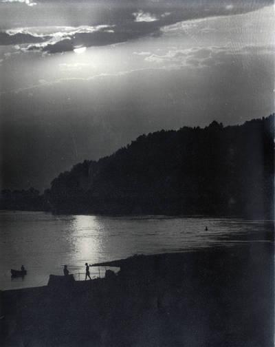 Saulėlydis prie Rambyno. Pavienė nuotrauka / Bernardas Aleknavičius