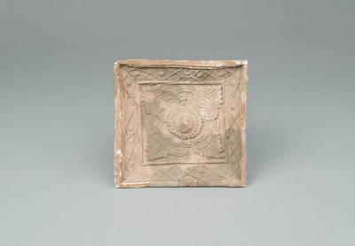 Keramikinis plokštinis koklis. 1600