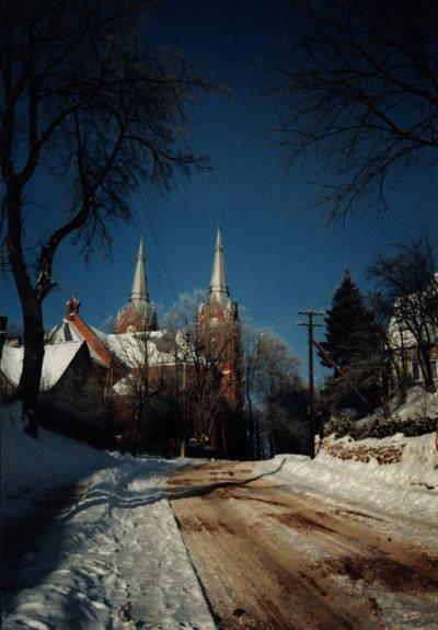 Zigmas Kalesinskas. Vilkijos bažnyčia. 1975