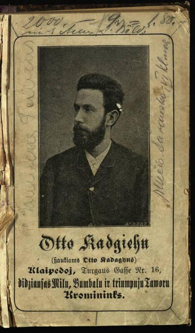 """Tilźês keleiwjo kalendros ..."". metui 1894. - 1893"