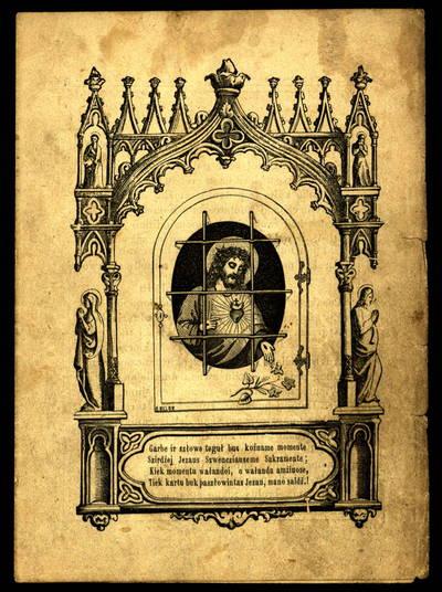 Bałsas duszios prie diewiszko kalinio. - 1892