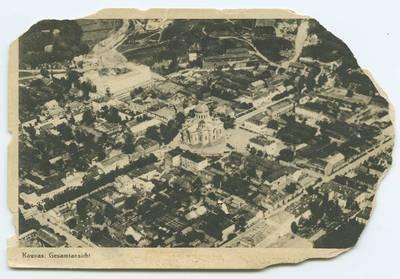 Senieji Lietuvos atvirukai ir fotografijos. Kaunas ir jo apylinkės. Kaunas. Gesamtansicht. - 1928