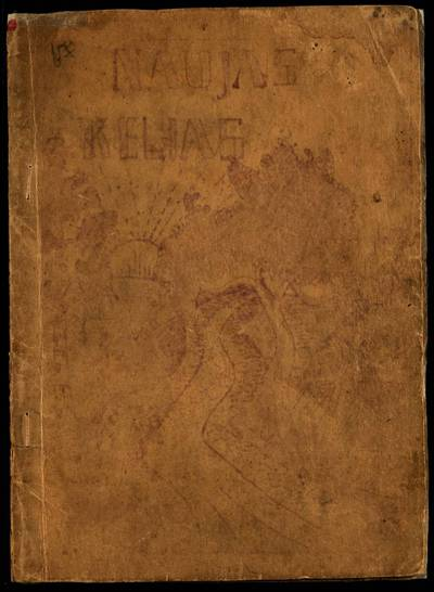 Laikraštėlių kolekcija. Jaunimo organizacijų leidiniai. Naujas kelias. [Nr. 1] / red. Vl. Mikelionis. - 1925