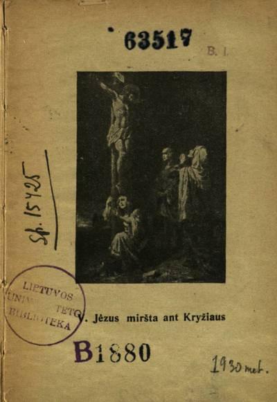 Gavėnios giesmė. - 1930