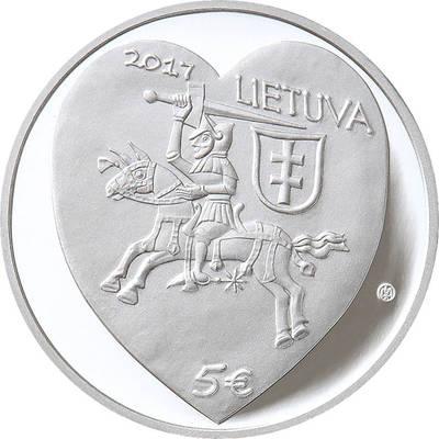 """Rytas Jonas Belevičius. Moneta, kolekcinė (reprezentacinėje dėžutėje su sertifikatu). Skirta Kaziuko mugei (iš serijos """"Tradicinės lietuvių šventės""""). 2017"""