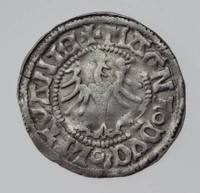Moneta. Pusgrašis. Aleksandras  (1492–1506). LDK
