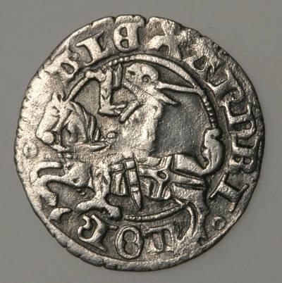 Moneta. Pusgrašis. Aleksandras (1492–1506). LDK. 1525