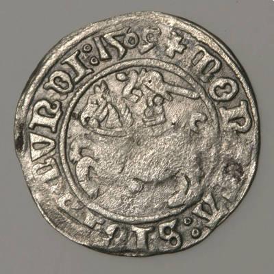 Moneta. Pusgrašis. Žygimantas Senasis  (1506–1544). LDK. 1509