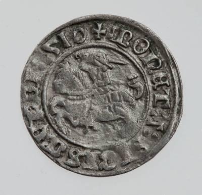 Moneta. Pusgrašis. Žygimantas Senasis (1506–1544). LDK. 1510