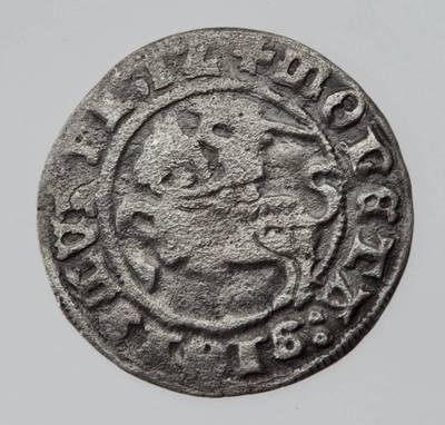 Moneta. Pusgrašis. Žygimantas Senasis (1506–1544). LDK. 1512