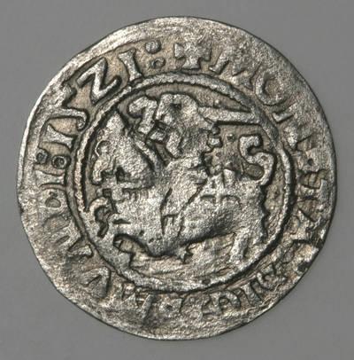 Moneta. Pusgrašis. Žygimantas Senasis (1506–1544). 1521 m. LDK. 1521