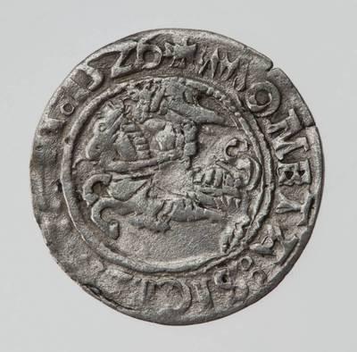 Moneta. Pusgrašis. Žygimantas Senasis (1506–1544). 1526 m. LDK. 1526