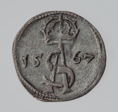 Moneta. Dvidenaris. Žygimantas Augustas (1544–1572). 1567 m. LDK. 1567
