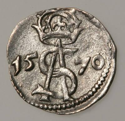 Moneta. Dvidenaris. Žygimantas Augustas (1544–1572). 1570 m. LDK. 1570