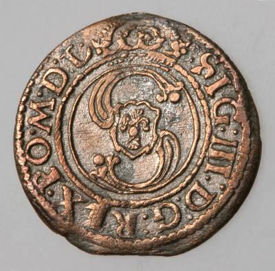 Moneta. Šilingas. Zigmantas Vaza (1588–1632). 1624 m. LDK