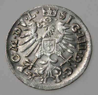 Moneta. Grašis. Zigmantas Vaza (1588–1632). 1609 m. LDK. 1609