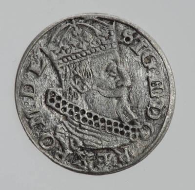 Moneta. Grašis. Zigmantas Vaza (1588–1632). 1626 m. LDK
