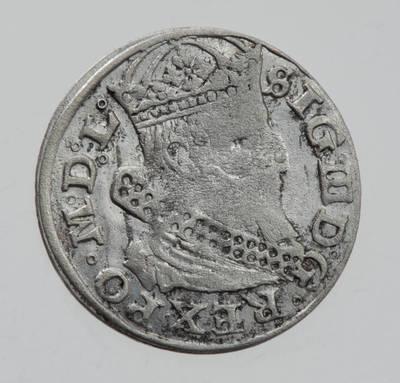 Moneta. Grašis. Zigmantas Vaza (1588–1632). 1626 m. LDK. 1626