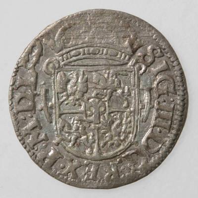 Moneta. Pusantrokas. Zigmantas Vaza (1588–1632). 1619 m. LDK. 1619