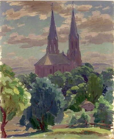 Jonas Mackevičius. Anykščių bažnyčia. XX a. I p.