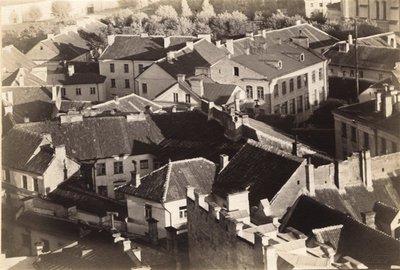 Janas Bulhakas. Fotografijų albumas Fotografijos archyvas, t. 8. Senamiesčio panorama nuo Šv. Jono varpinės. 1914
