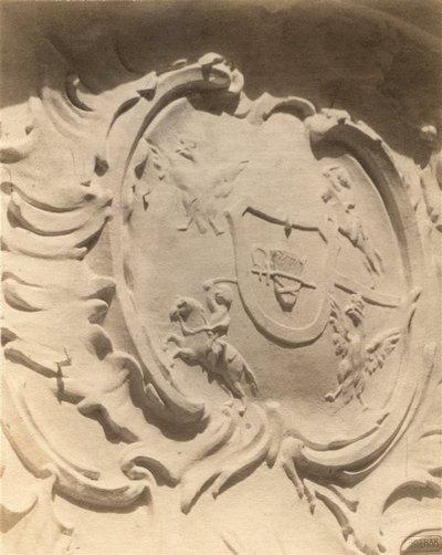 Janas Bulhakas. Fotografijų albumas Fotografijos archyvas, t. 9. Šv. Dvasios bažnyčios portalo fragmentas. 1914