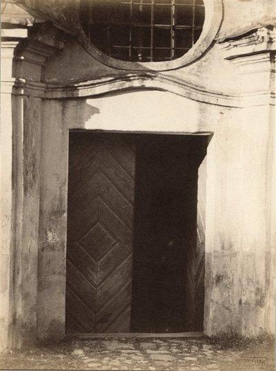 Janas Bulhakas. Fotografijų albumas Fotografijos archyvas, t. 10. Benediktinių vienuolyno fragmentas. 1914