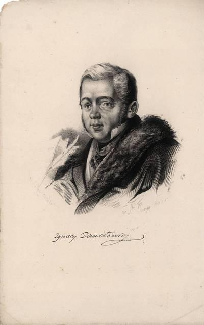 Rudolfas Žukovskis. Igno Danilavičiaus portretas. 1846