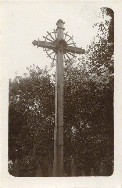 Adomas Varnas. Rinkinys Adomo Varno fotorinkinys. Kryžius, 1920. 1924