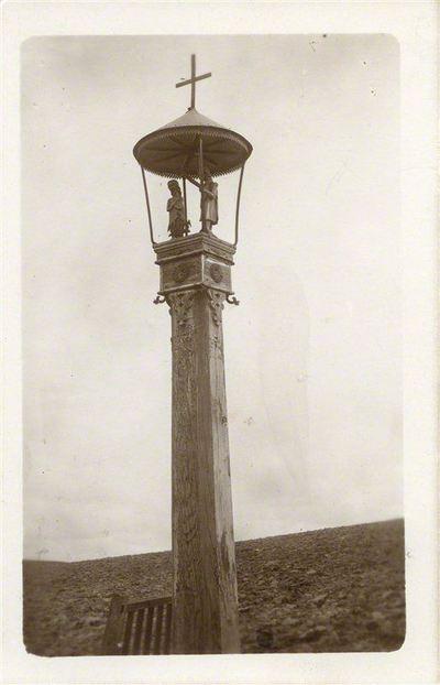 Adomas Varnas. Rinkinys Adomo Varno fotorinkinys. Koplytstulpis, 1910. 1925