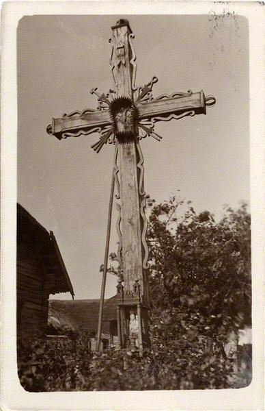 Adomas Varnas. Rinkinys Adomo Varno fotorinkinys. Kryžius, 1900. XX a. 3 deš.