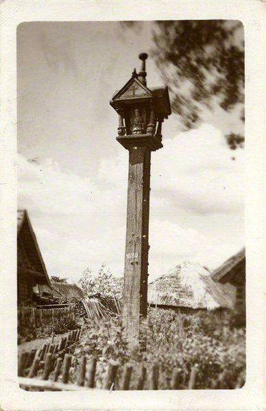 Adomas Varnas. Rinkinys Adomo Varno fotorinkinys. Koplytstulpis, 1880. 1926