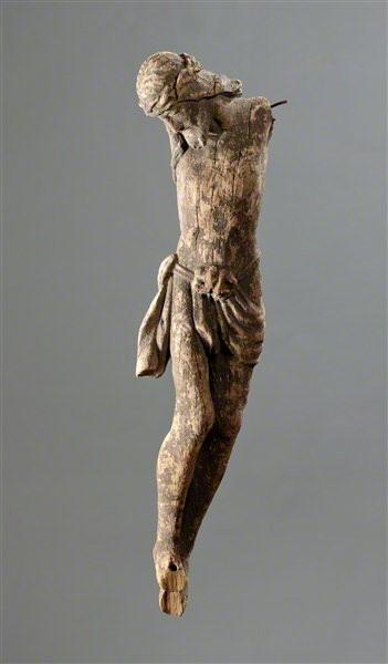 Nežinomas liaudies skulptorius. Nukryžiuotasis. XIX a.