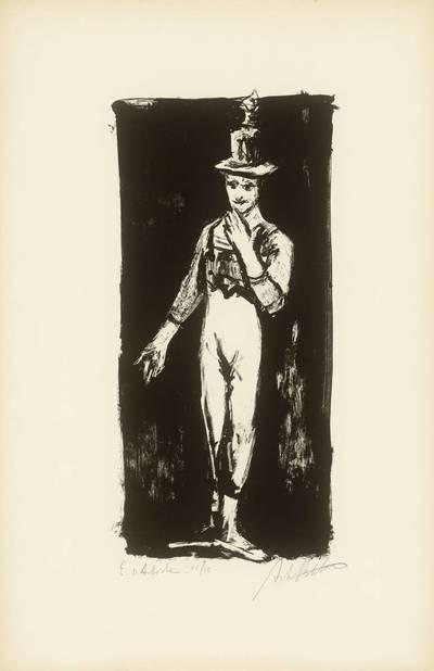 Neemija Arbit Blatas. Marselio Marso (Marcel Marceau) improvizacijos. X. 1960