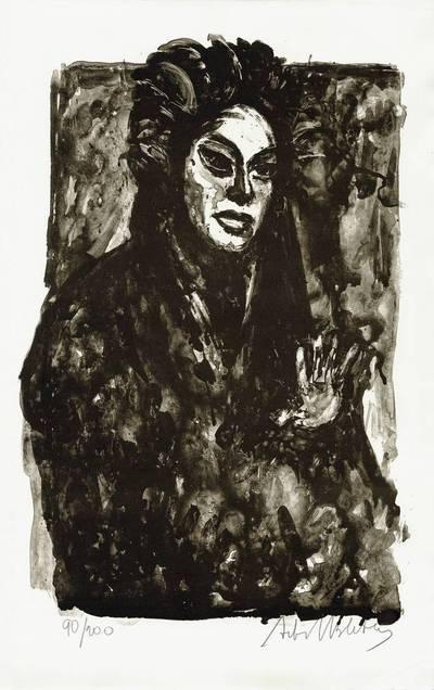 """Neemija Arbit Blatas. Žindyvė iš Richardo Štrauso operos """"Moteris be šešėlio"""". 1969"""