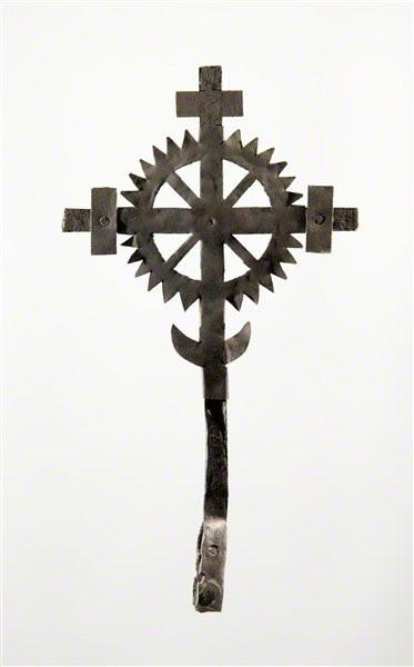 Nežinomas kalvis. Kryžiaus viršūnė. XIX a. II p.