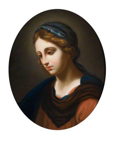 Nežinomas italų XVII a. dailininkas. Madona. XIX a.