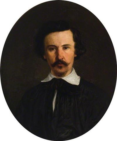 Eduardas Bonifacas Paulavičius. Autoportretas. 1853