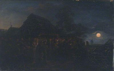 Vincentas Dmachauskas. Žydų vestuvės. XIX a.