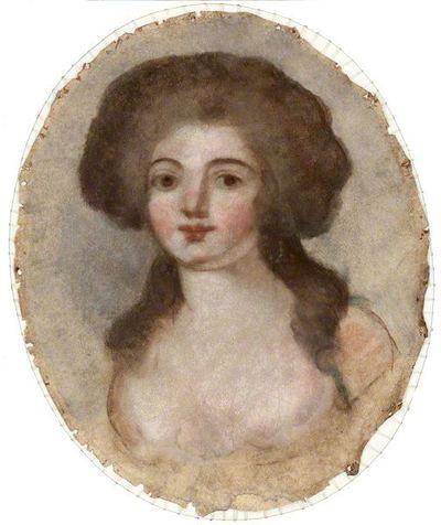 Nežinomas prancūzų XVIII a. dailininkas. Jaunos mergaitės biustas. XVIII a.