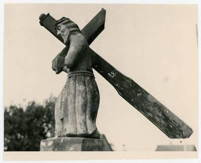 Mečislovas Sakalauskas. Kristus, nešantis kryžių