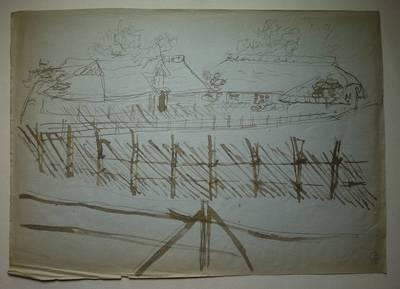 Genovaitė Jacėnaitė. Piešinys. 1995