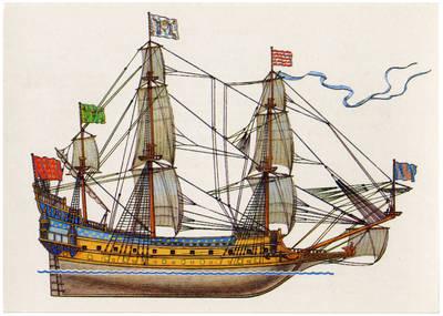 Viktoras Dygalo. Французское военное судно «Ля Коронне». 1990
