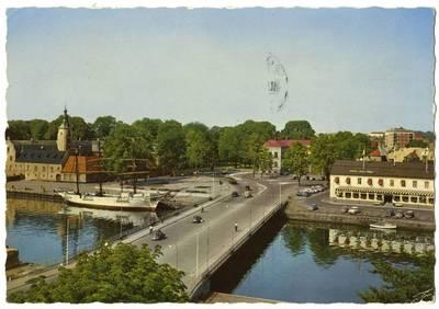 Nežinomas fotografas. Halmstad. Slottsbron. 1963