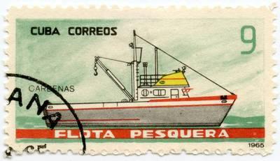 """Kubos pašto ženklas """"Cardenas"""""""