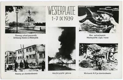 Nežinomas fotografas. Westerplatte 1-7 IX 1939. 1939