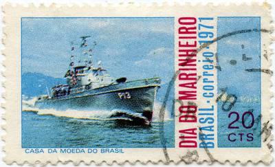 Brazilijos 20 sentavų proginis pašto ženklas