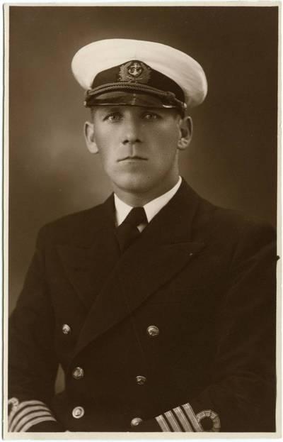 Antanas Jankauskas. Tolimojo plaukiojimo kapitonas F. Marcinkus. 1940